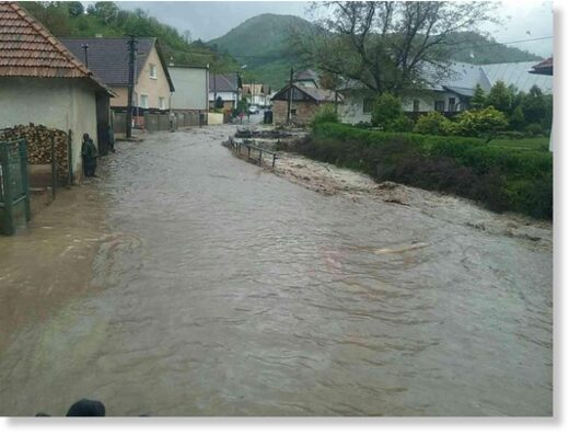 Flash Floods in Žarnovica District, Slovakia, May 2021.