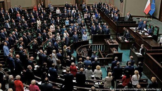 Poland limit jewish property recovery Parliament