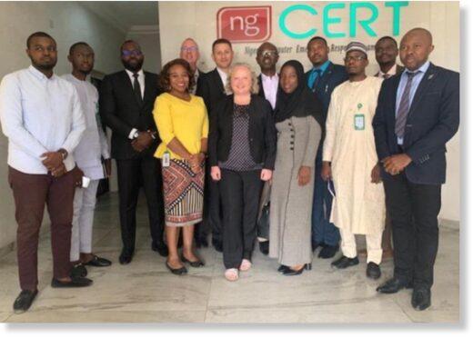 Toka executives pose with Nigerian officials