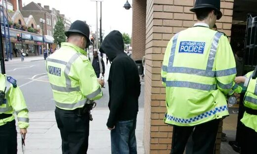 uk police stop search