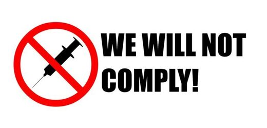 not comply vaccine