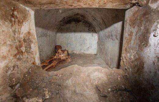 mummified pompeii