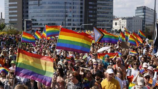 gay pride parade poland lgbt