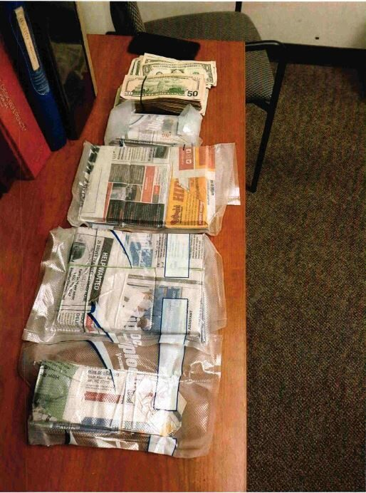 cash seized charlotte DHS civil forfiture