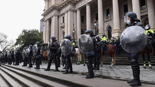 Riot police australia