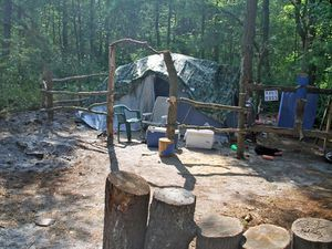NJ homeless camp