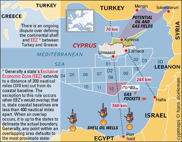 an analysis of the history of the conflict cyprus an island in the eastern mediterranean The turkish navy blocking a drilling ship from exploring for gas off cyprus ought to make international headlines, but it has gone almost unnoticed at a time of such conflict in the region.