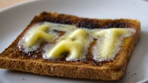 toast,butter,fat