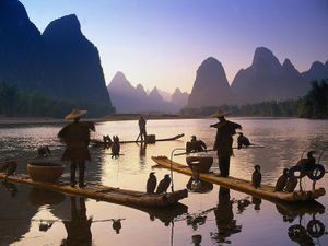 cormorant fishers, China