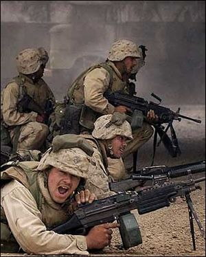 soldiers in Iraq