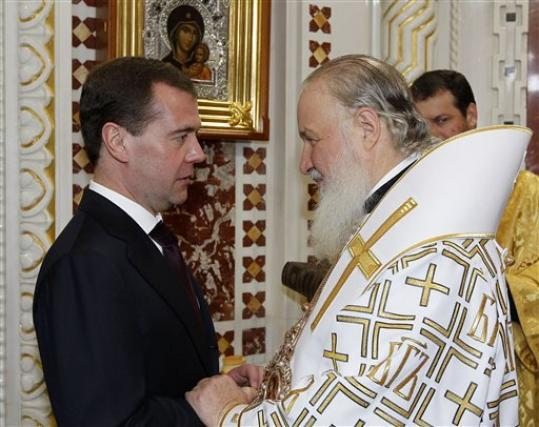 Head of Russian Church Says Leaders Must Listen to Protests