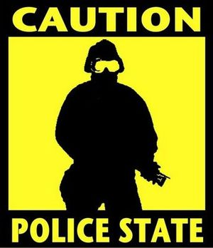 police state graphic