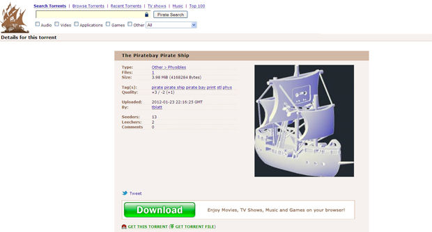 how to get on pirate bay in australia