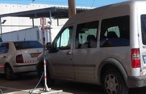 Jenin checkpoint contraption 1