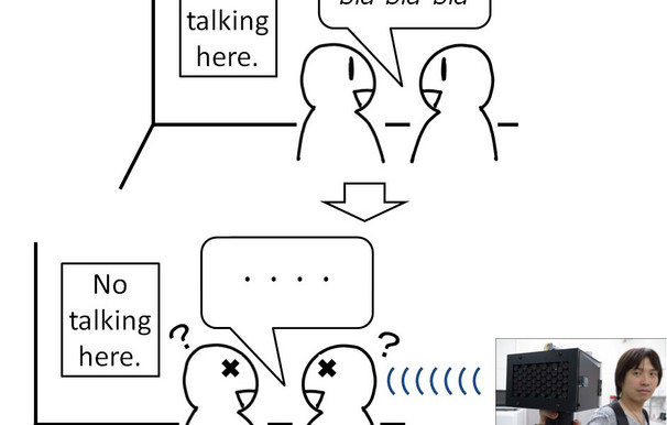 Speech Jammer Brings Talkers' Brains to Stuttering Halt