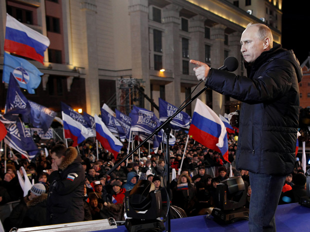 Putin Wins Presidential Election Despite US Govt. and Western Media Interference