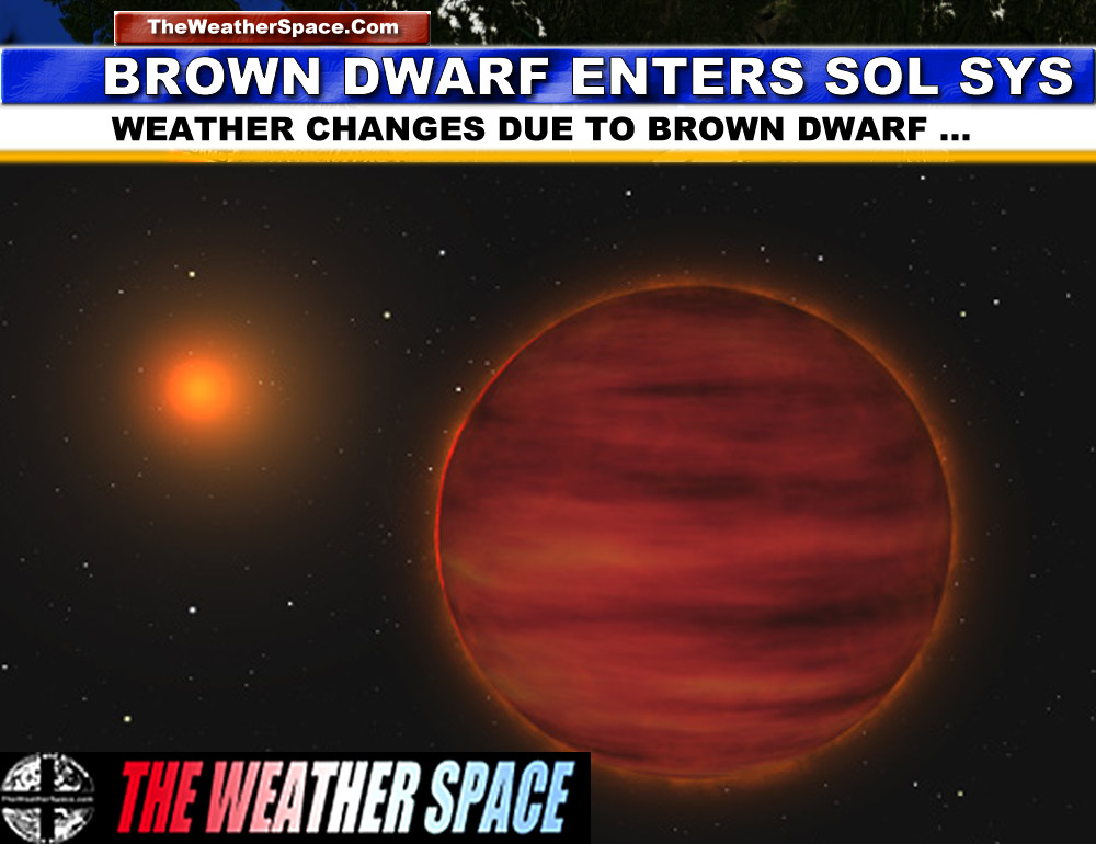 Brown Dwarf Discovered Entering Solar System, Responsible for Changing Weather Patterns