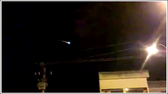 Witness claims to see impact of meteor in Brazil [VIDEO]
