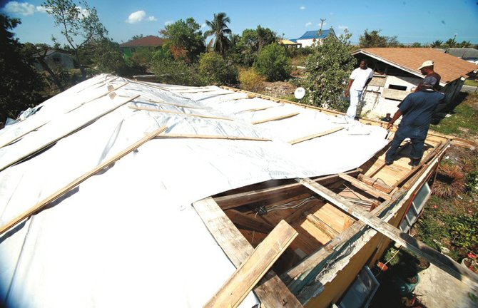 Freak storm sweeps across the bahamas homes damaged for Portent of restoration 3