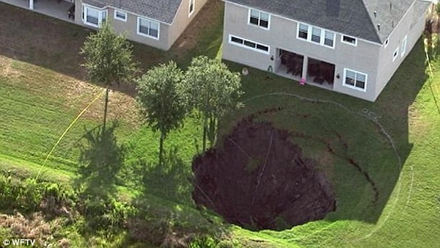 Massive Florida Sinkhole Forced Evacuations