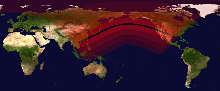Annular Solar Eclipse on May 20 - 21, 2012