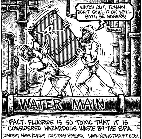 Fluoride Dispensing to Medicate the Masses - No Evidence That It Helps but Plenty That it is Toxic!