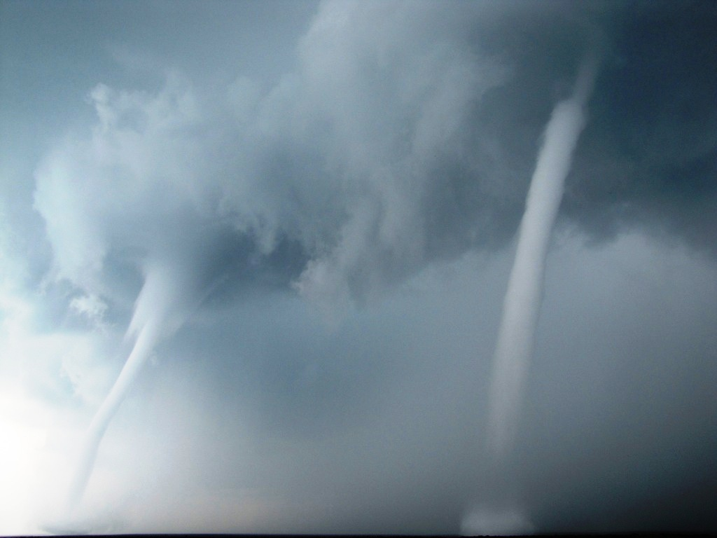 Twin Waterspouts Caught on Camera