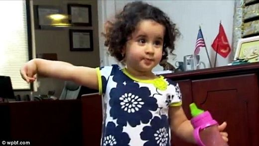 'Threat': Airline staff at Fort Lauderdale Airport in Flordia claimed 18-month-old Riyanna