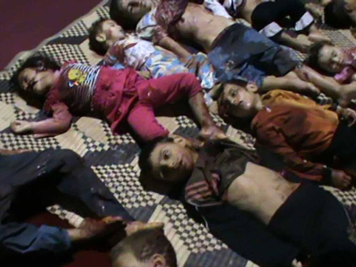 Houla massacre carried out by Syrian 'rebels', says Frankfurter Allgemeine Zeitung