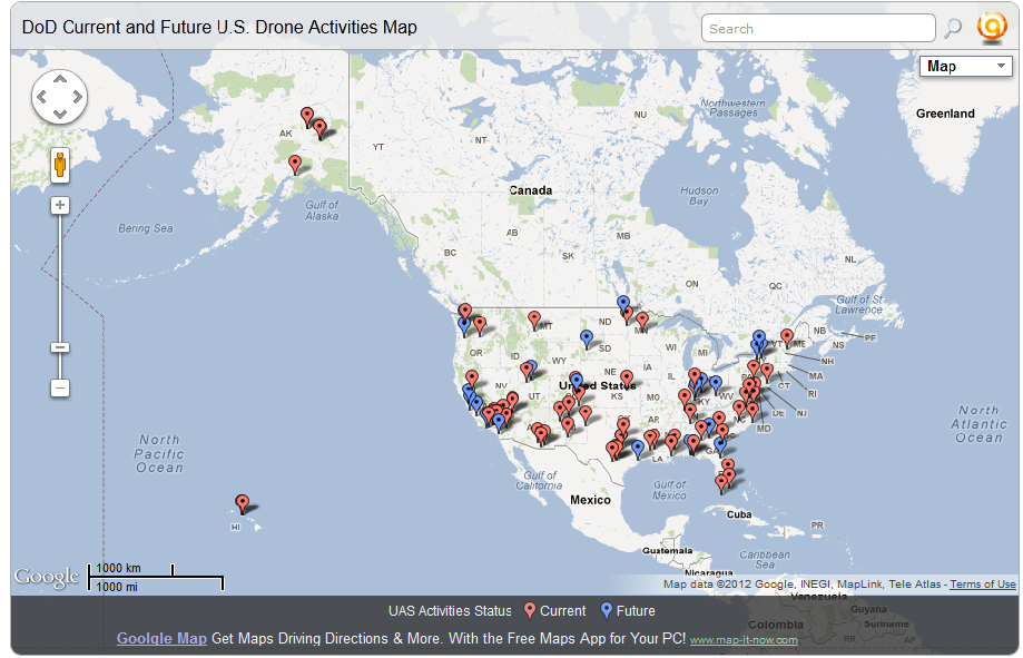Spying on Americans: 64 Drone Bases on US Soil (and counting)