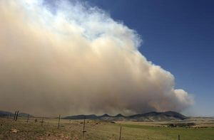 The High Park fire in Colorado