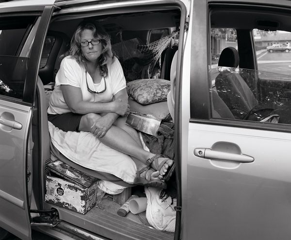 Middle Class Americans Suddenly Homeless And Living In