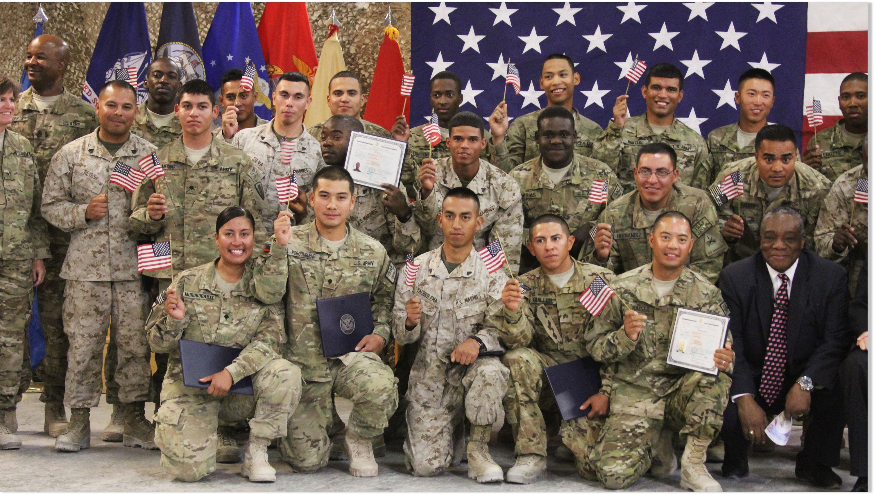 U.S. Troops Become Ame...