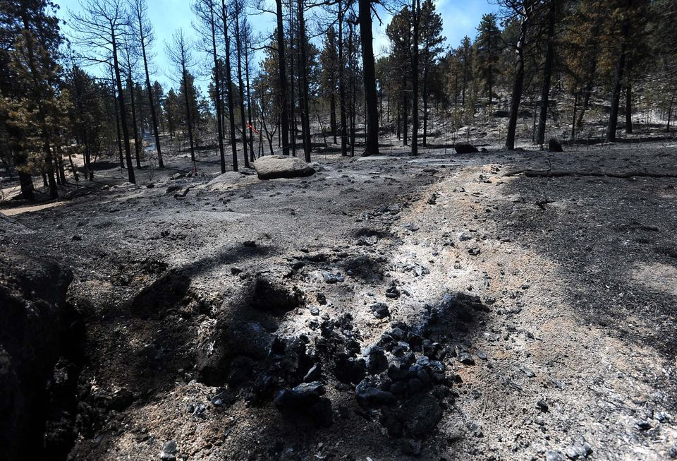 Meteor may have started Lake George blaze in Colorado
