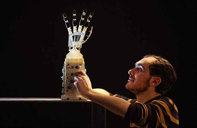 World's First Real-Sized, Five-Fingered Robotic Hand Able to Grasp and Manipulate Objects