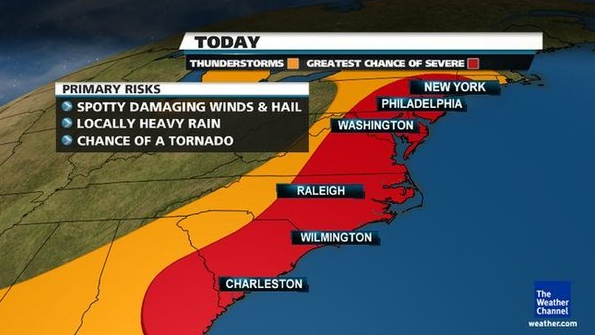 tornado watches issued for new york city and much of
