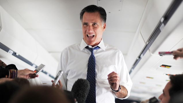 Satire: Romney proudly explains how he's turned campaign around: 'I'm lying more.'