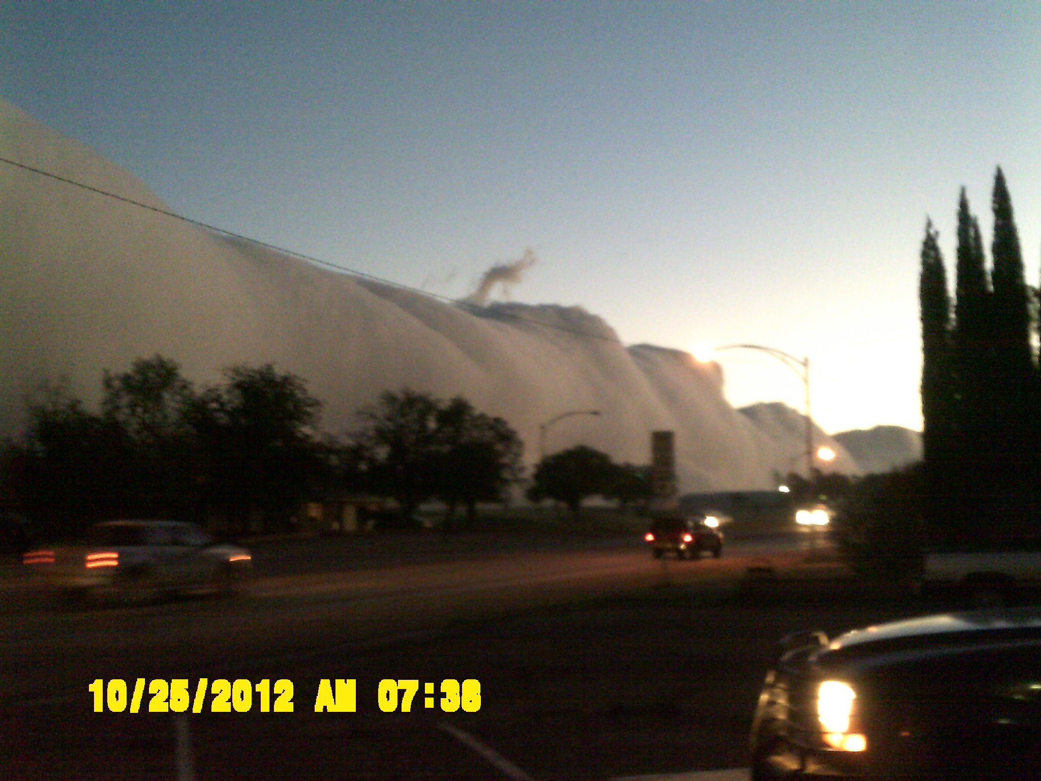 Amazing Roll Cloud over Andrews, Texas