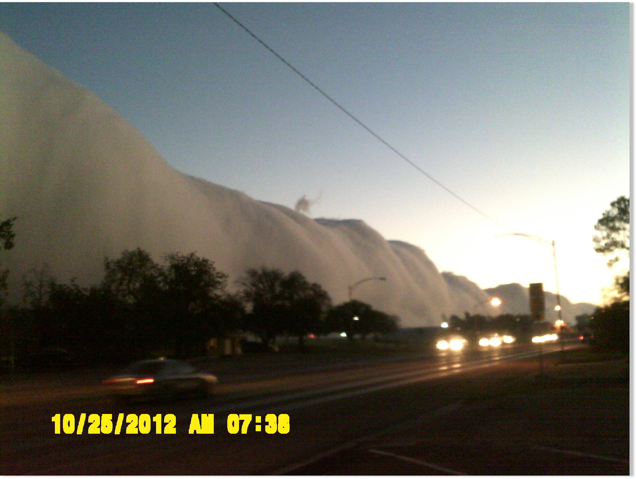 Amazing Roll Cloud over Andrews, Texas -- Earth Changes ... Andrews Tx