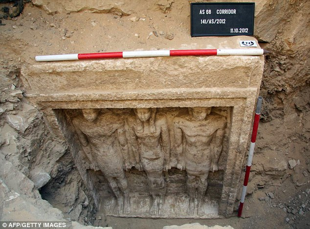 Egyptian princess' tomb dating from 2500 BC is discovered near Cairo