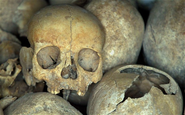 Buried with a stake through a heart: The medieval 'vampire' burial