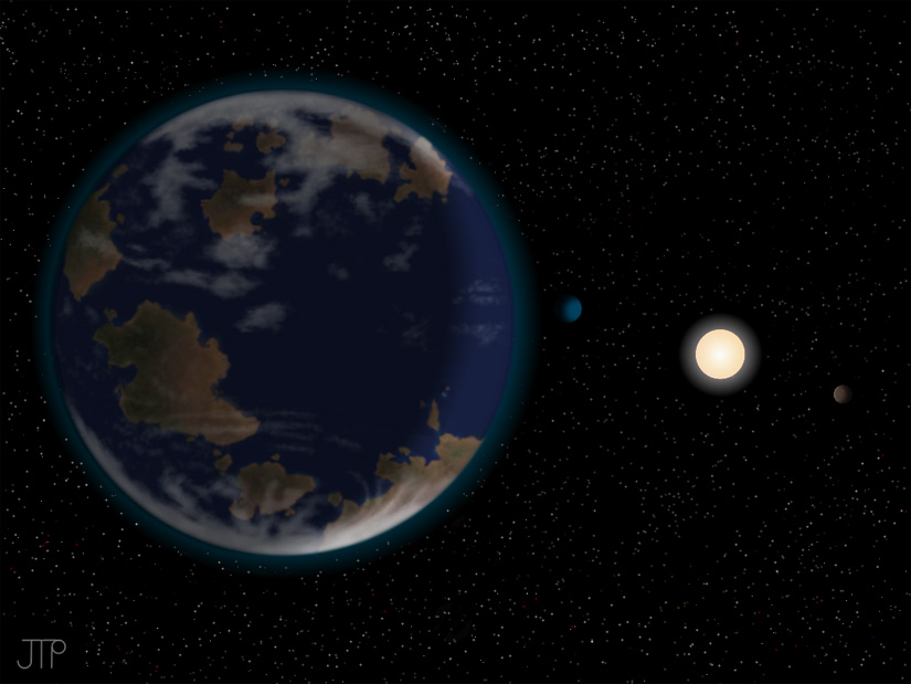 Potentially habitable planet discovered 7 times more massive than earth