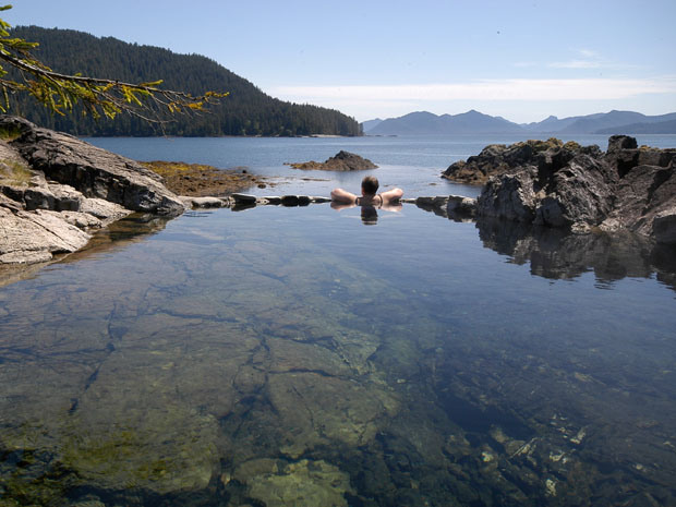 British Columiba earthquake dried up centuries-old Haida Gwaii hot springs