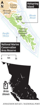 National Marine Conservation Area Reserve