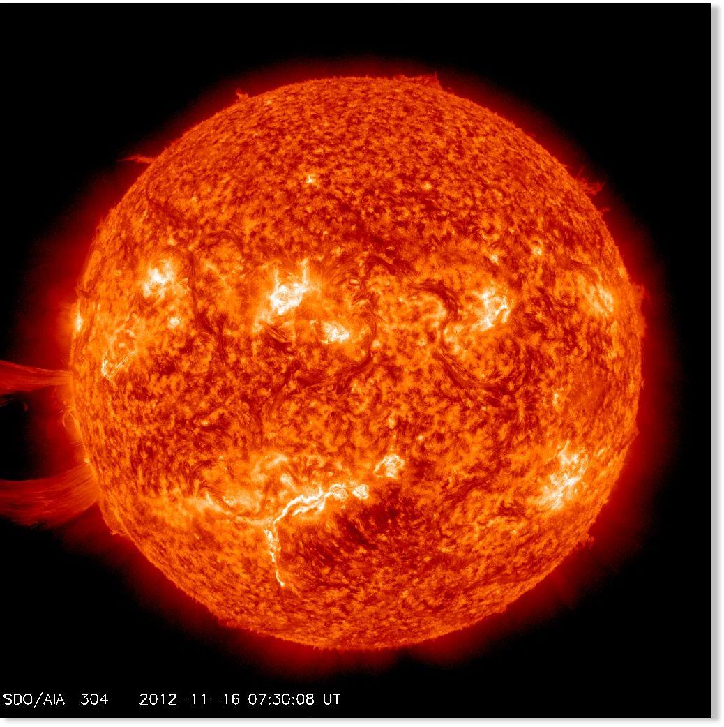 Giant Sun eruption cap...