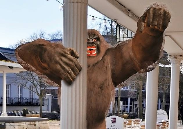 'Britain's Bigfoot' spotted in Tunbridge Wells