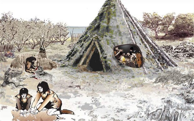 Prehistoric Scotland home unearthed - dated to the Mesolithic period