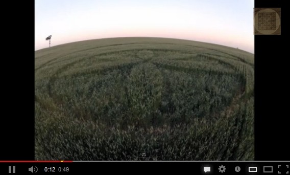 Mysterious Lachlan Valley NSW crop circle linked to recent solar eclipse?
