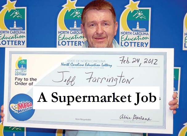(Not) Humor... Jackpot in Italian Lottery: Supermarket job