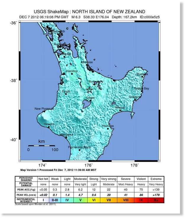 Tokoroa New Zealand  City pictures : ... 19km SE of Tokoroa, New Zealand Earth Changes Sott.net